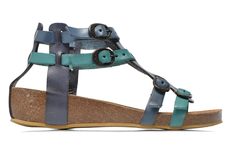 Sandales et nu-pieds Kickers BOMDIA Bleu vue derrière