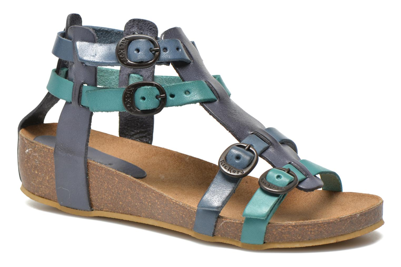 Sandales et nu-pieds Kickers BOMDIA Bleu vue détail/paire