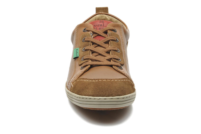 Sneaker Kickers AMOUR braun schuhe getragen
