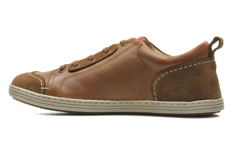 Sneaker Kickers AMOUR braun ansicht von vorne