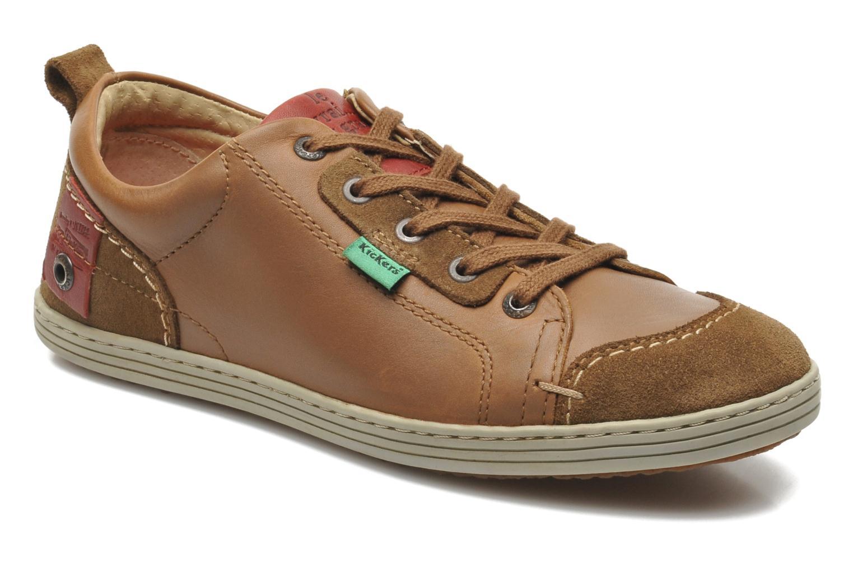 Sneaker Kickers AMOUR braun detaillierte ansicht/modell
