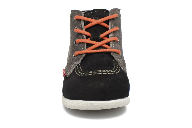 Bottines et boots Kickers Babystan Noir vue portées chaussures