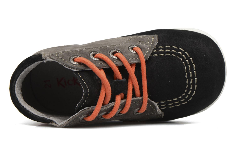 Bottines et boots Kickers Babystan Noir vue gauche
