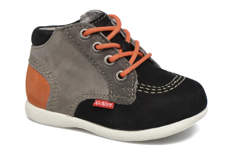 Bottines et boots Kickers Babystan Noir vue détail/paire