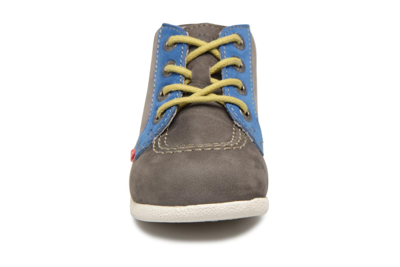 Bottines et boots Kickers Babystan Gris vue portées chaussures