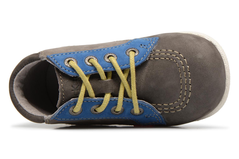 Bottines et boots Kickers Babystan Gris vue gauche