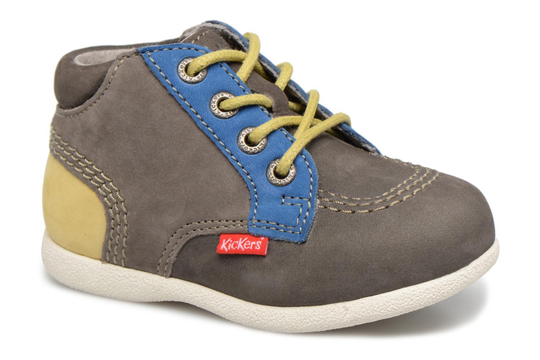 Bottines et boots Kickers Babystan Gris vue détail/paire