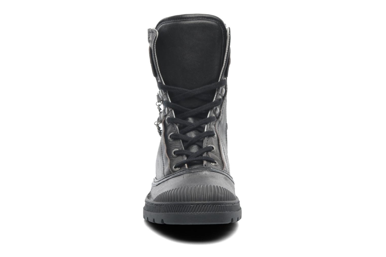 Bottines et boots Pataugas Angel Argent vue portées chaussures