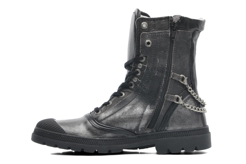 Bottines et boots Pataugas Angel Argent vue face