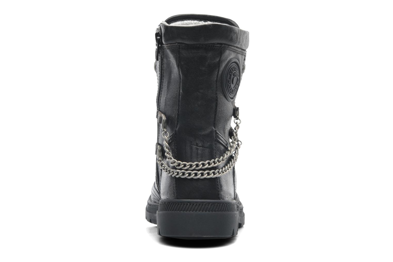 Bottines et boots Pataugas Angel Argent vue droite