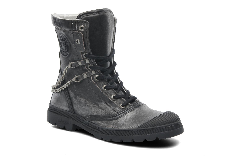 Bottines et boots Pataugas Angel Argent vue détail/paire
