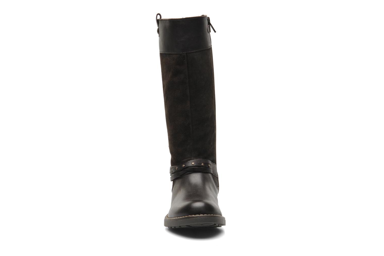 Stiefel Mod8 Tilu braun schuhe getragen