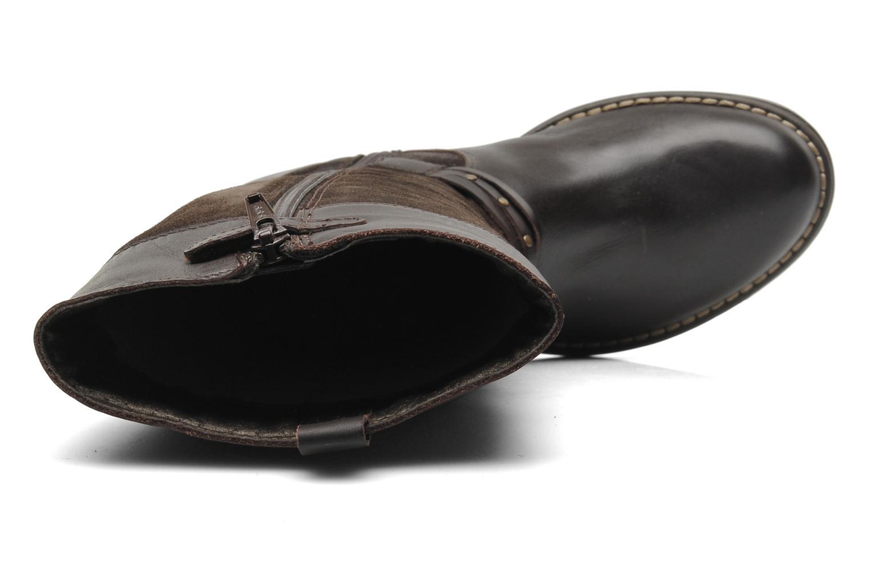 Stiefel Mod8 Tilu braun ansicht von links