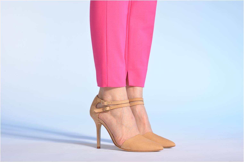Zapatos de tacón Made by SARENZA Roudoudou #9 Beige vista de abajo