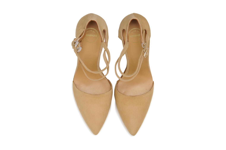 Zapatos de tacón Made by SARENZA Roudoudou #9 Beige vista del modelo