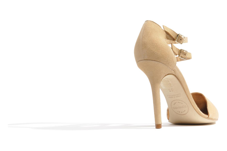 Zapatos de tacón Made by SARENZA Roudoudou #9 Beige vista de frente