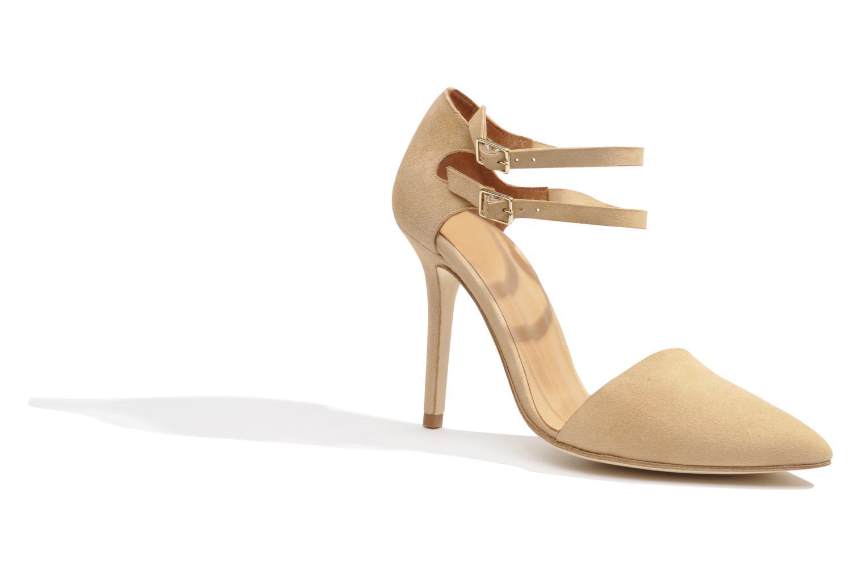 Zapatos de tacón Made by SARENZA Roudoudou #9 Beige vista lateral derecha