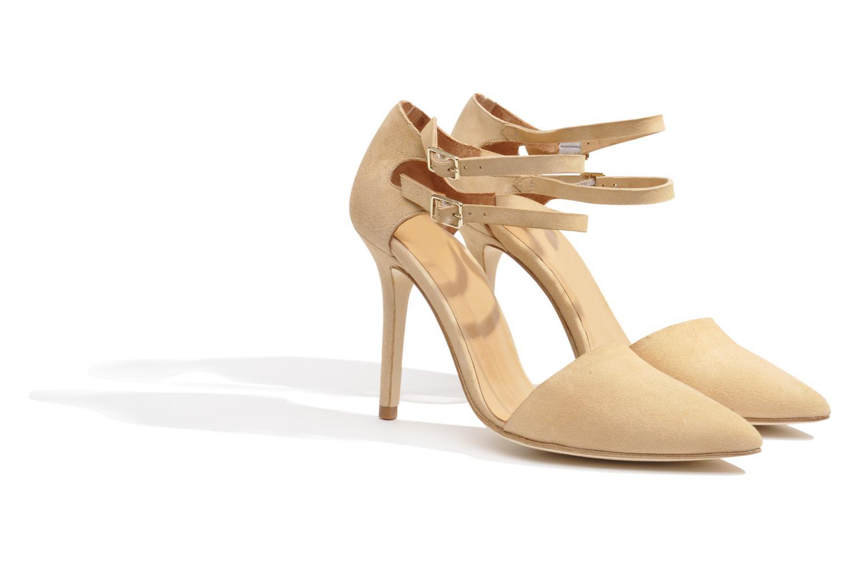 Zapatos de tacón Made by SARENZA Roudoudou #9 Beige vistra trasera