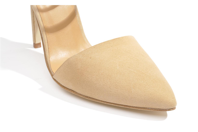 Zapatos de tacón Made by SARENZA Roudoudou #9 Beige vista de arriba