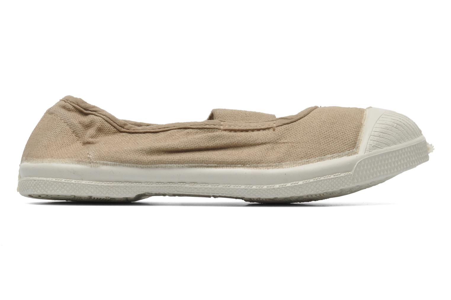 Trainers Bensimon Tennis New Banner E Beige back view
