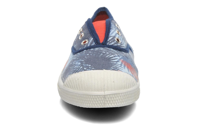 Baskets Bensimon Tennis Summer E Bleu vue portées chaussures