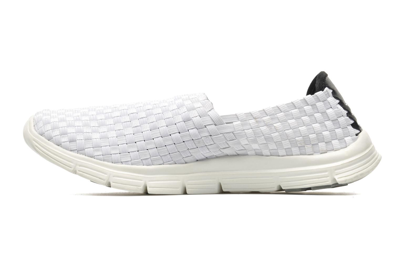 Sneaker Mustang shoes Jalur weiß ansicht von vorne