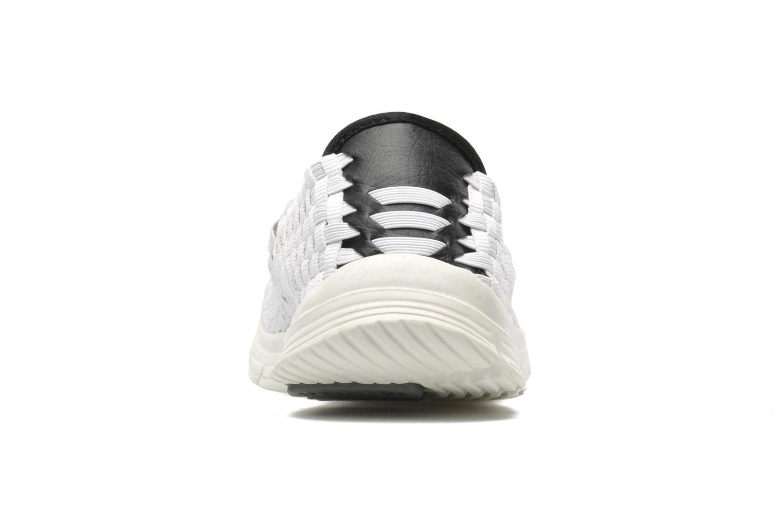 Sneaker Mustang shoes Jalur weiß ansicht von rechts