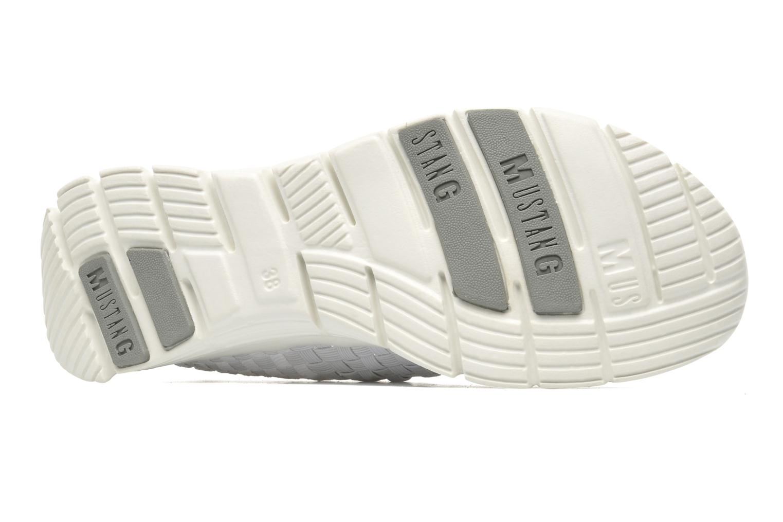 Sneaker Mustang shoes Jalur weiß ansicht von oben