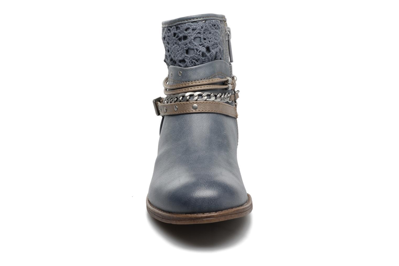Stiefeletten & Boots Mustang shoes Amuvi blau schuhe getragen