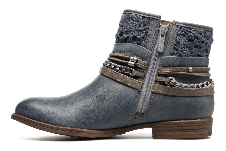 Bottines et boots Mustang shoes Amuvi Bleu vue face