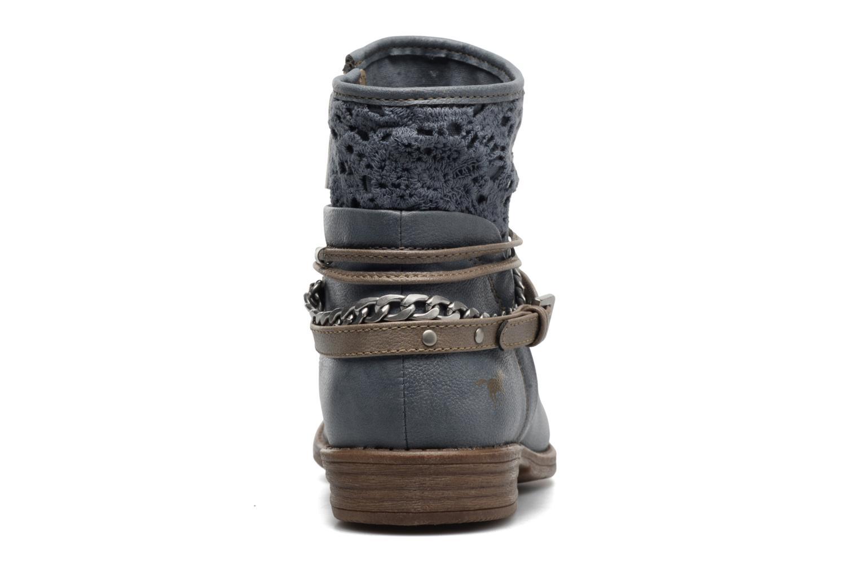Stiefeletten & Boots Mustang shoes Amuvi blau ansicht von rechts