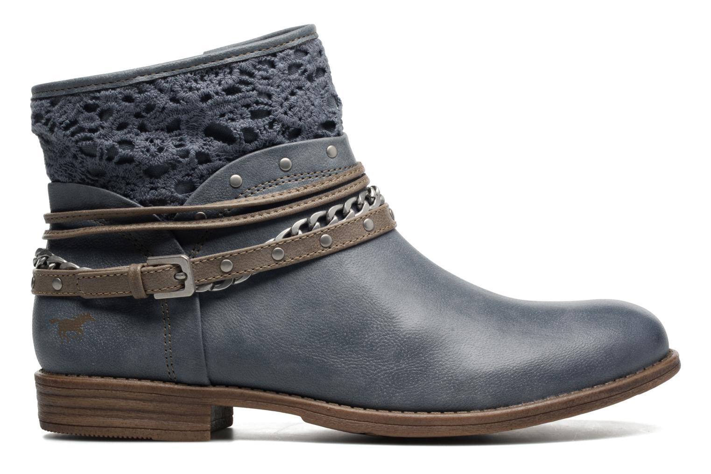 Bottines et boots Mustang shoes Amuvi Bleu vue derrière