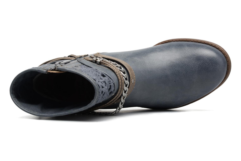 Bottines et boots Mustang shoes Amuvi Bleu vue gauche