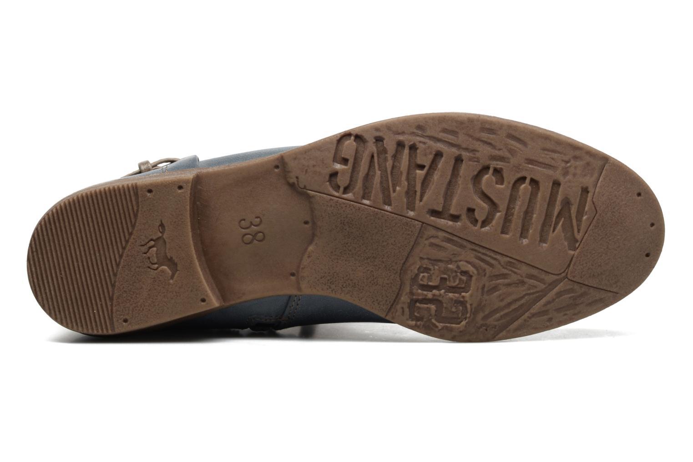 Bottines et boots Mustang shoes Amuvi Bleu vue haut