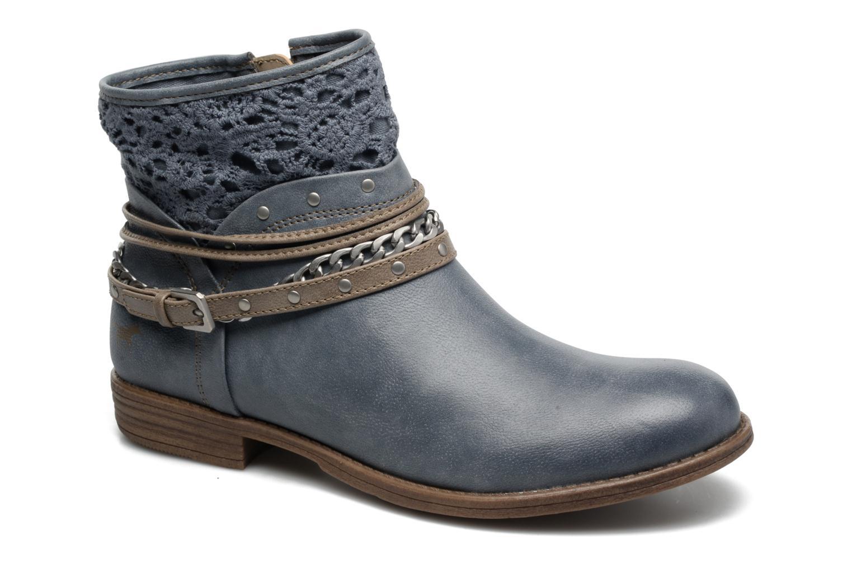 Bottines et boots Mustang shoes Amuvi Bleu vue détail/paire