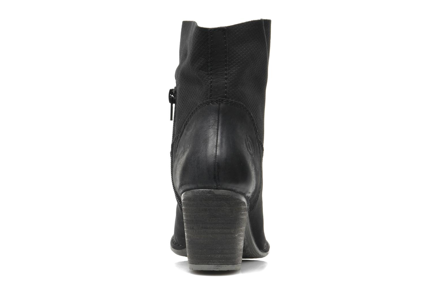 Ankle boots Bugatti V4221-5G Black view from the right