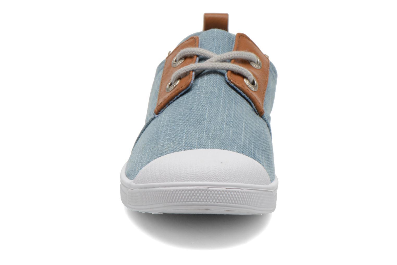 Sneakers Le temps des cerises Basic 02 Fancy Blauw model