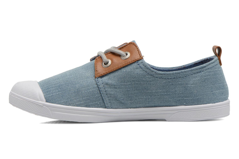 Sneakers Le temps des cerises Basic 02 Fancy Blauw voorkant