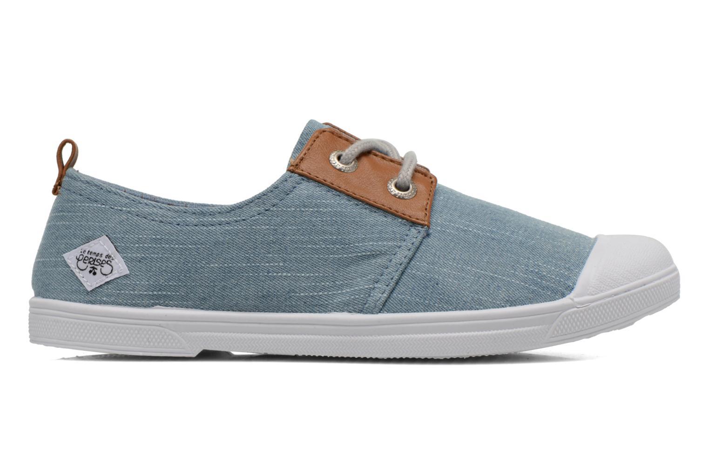 Sneakers Le temps des cerises Basic 02 Fancy Blauw achterkant