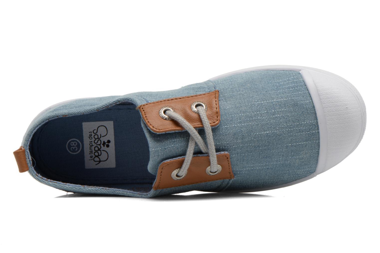 Sneakers Le temps des cerises Basic 02 Fancy Blauw links