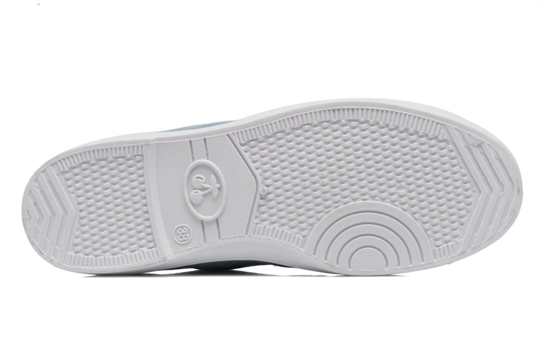Sneakers Le temps des cerises Basic 02 Fancy Blauw boven