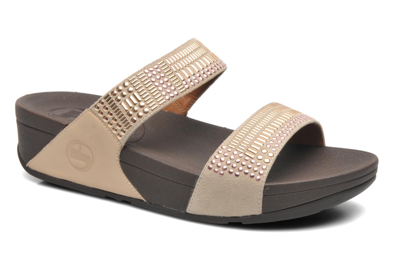 Clogs & Pantoletten FitFlop Aztek Chada Slide beige detaillierte ansicht/modell