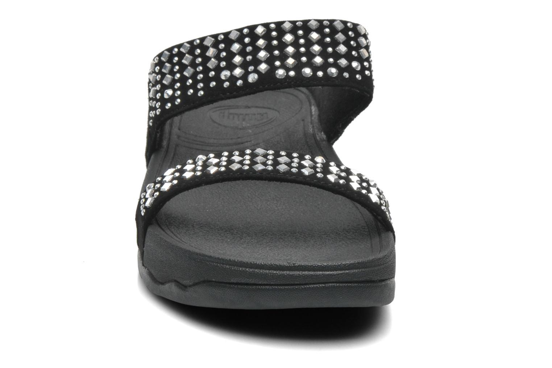Mules et sabots FitFlop Novy Slide Noir vue portées chaussures