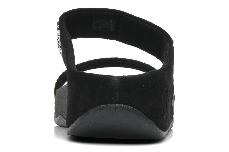 Mules et sabots FitFlop Novy Slide Noir vue droite