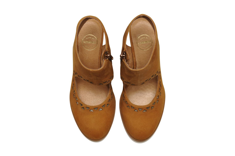 Bottines et boots Made by SARENZA Bamako #4 Marron vue portées chaussures
