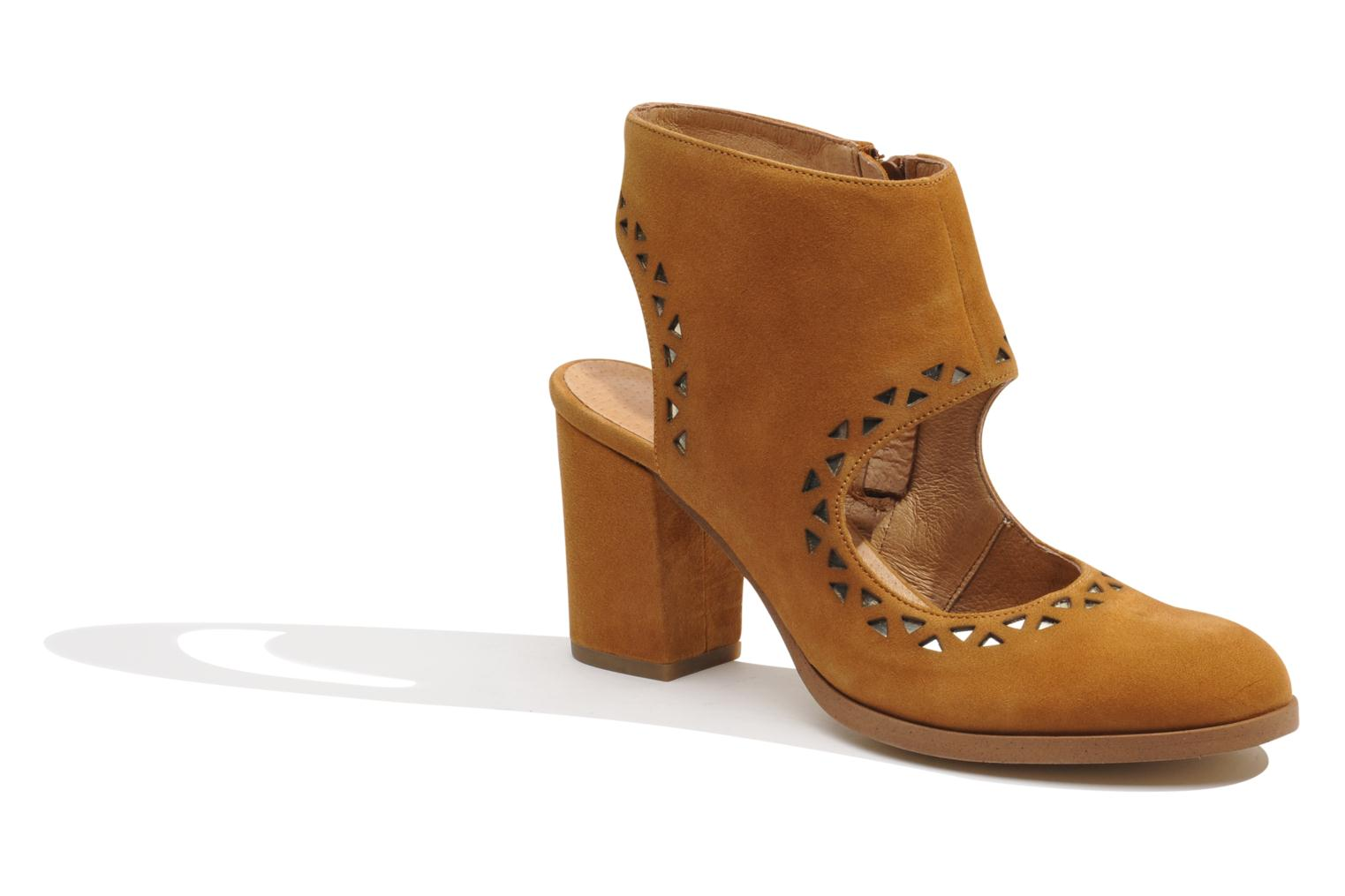 Ankle boots Made by SARENZA Bamako #4 Brown view from the right