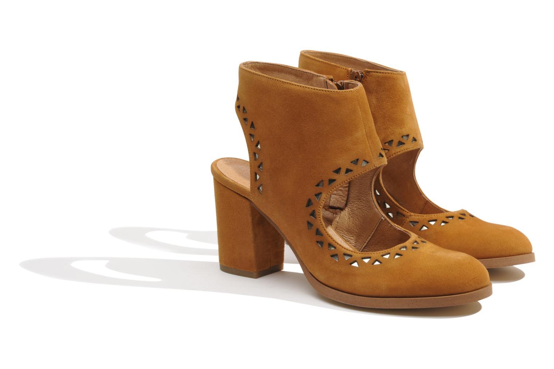 Bottines et boots Made by SARENZA Bamako #4 Marron vue derrière