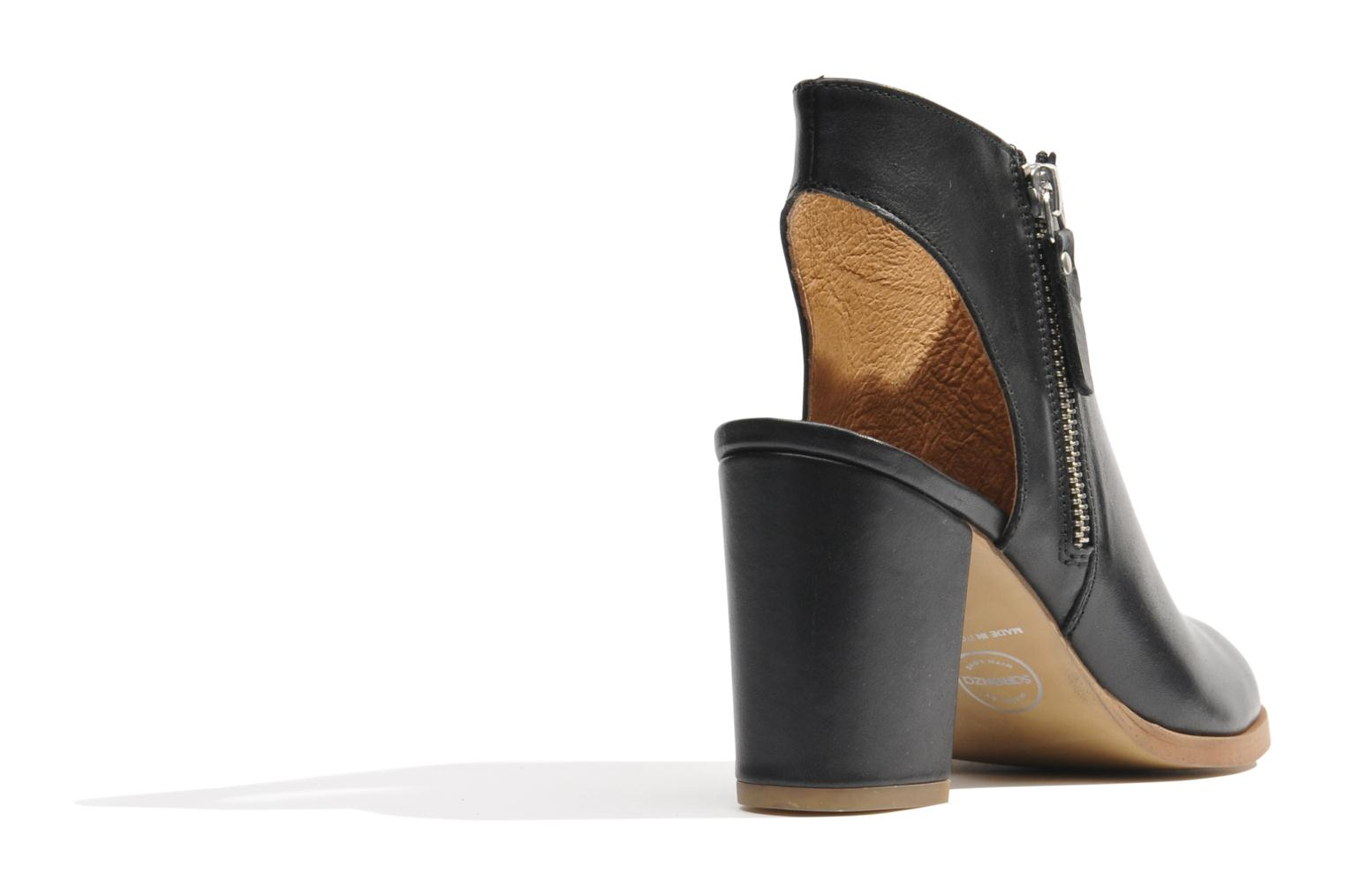 Ankle boots Made by SARENZA Guimauve #11 Black front view