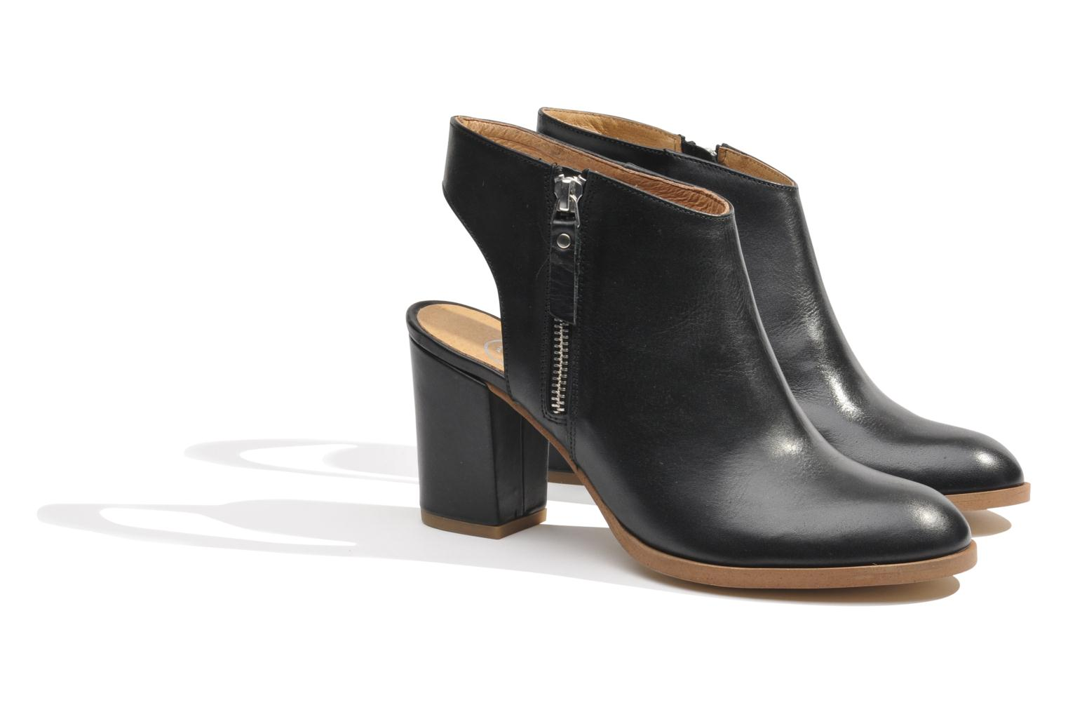 Ankle boots Made by SARENZA Guimauve #11 Black back view