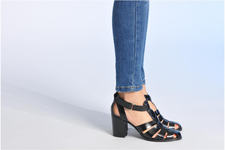 Sandalen Made by SARENZA Menthe Hello #2 Zwart onder